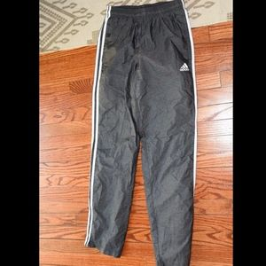 Mens Adidas Essentials 3 Stripe Woven Pants